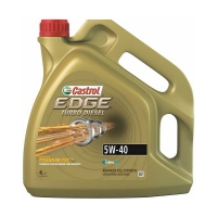 CASTROL EDGE Turbo Diesel 5W40, 4л 15BB02
